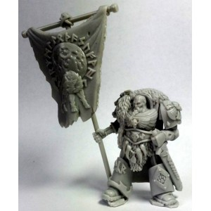 Space Viking Tyr. Standard Bearer